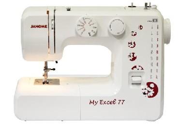 электромеханическая швейная машина janome myexcel 77 отзывы