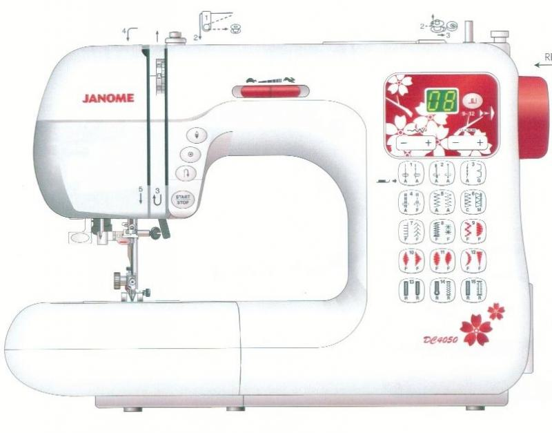 JANOME DC 4050