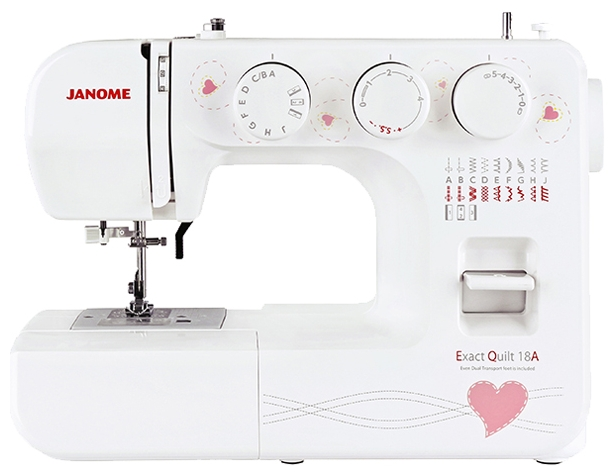 JANOME JANOME EXACT QUILT 18A